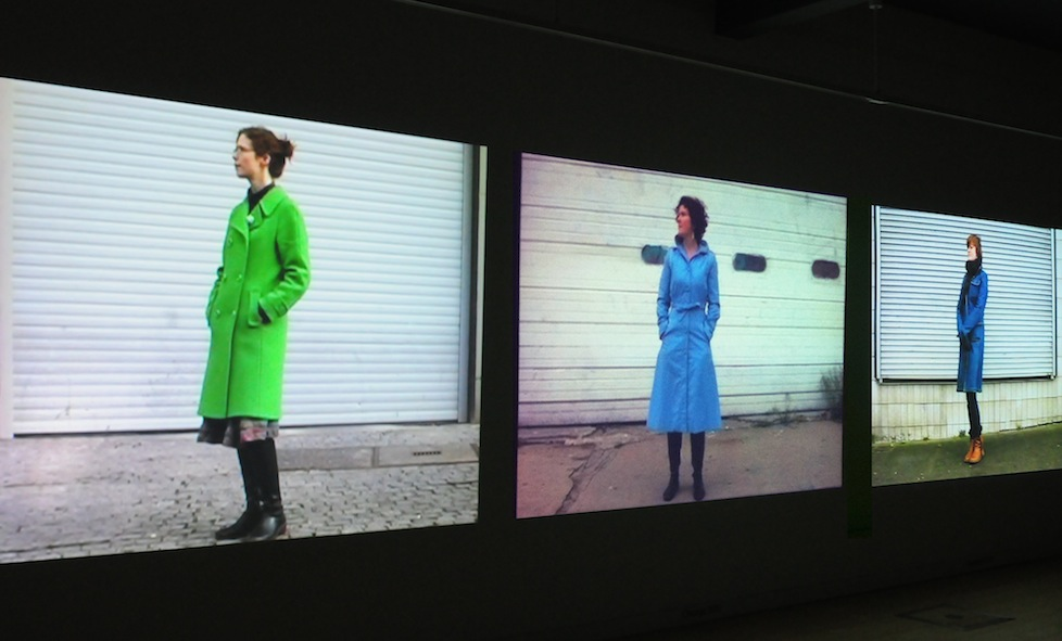 Kerstin Honeit – Position 1#, Installation (10mx3m) SIA Gallery, Sheffield (2012)