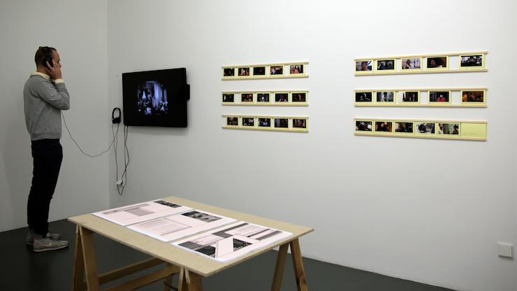 Kerstin Honeit – Installation view Ich muss mit Ihnen sprechen