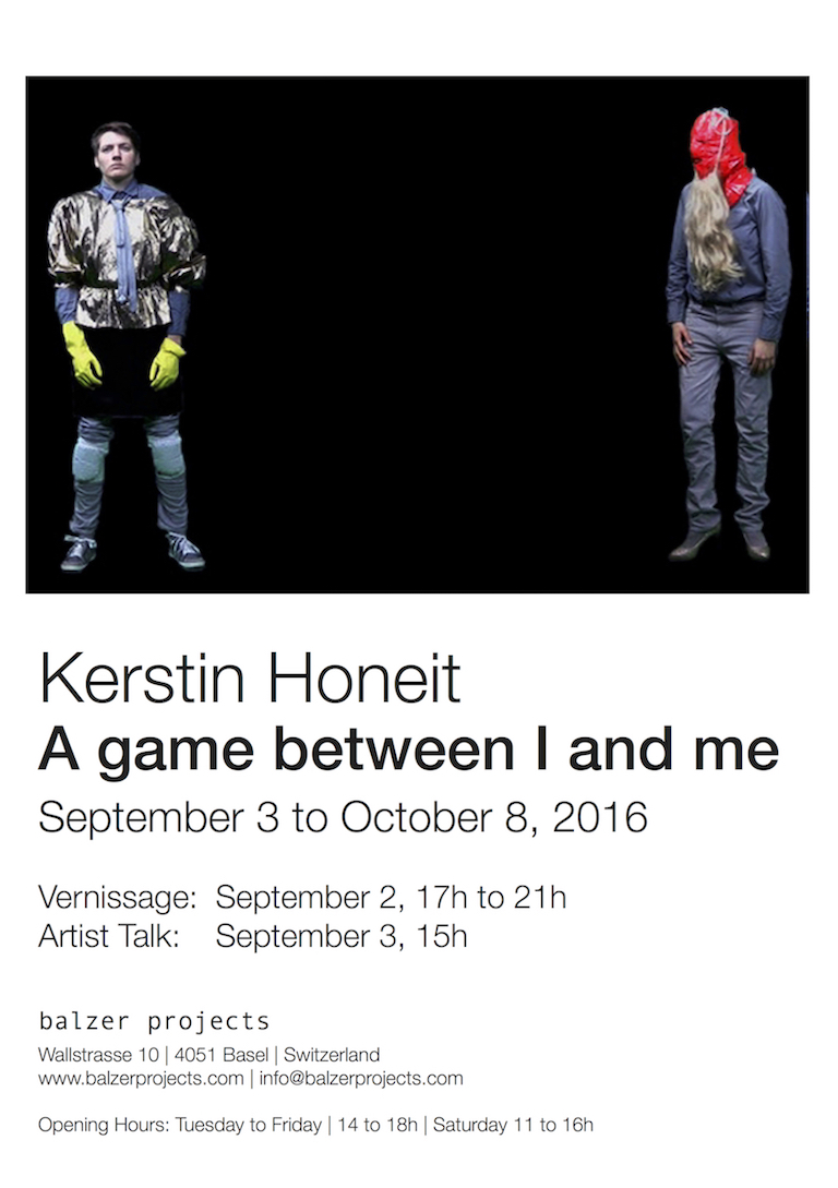 Kerstin Honeit –News: A game between I and me