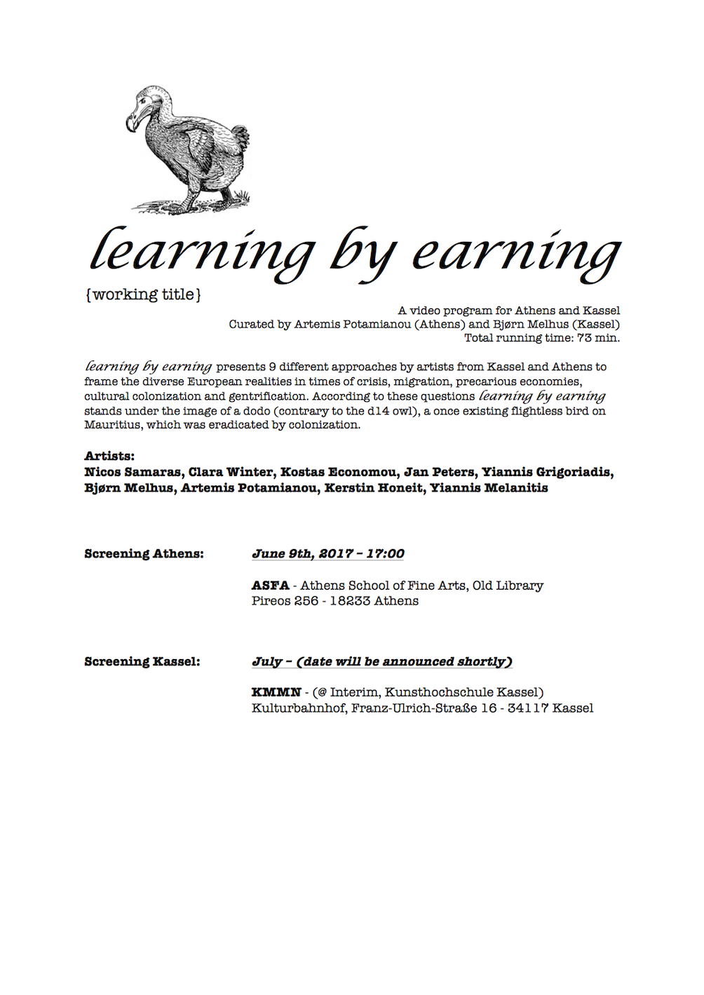Kerstin Honeit –News: learning by earning