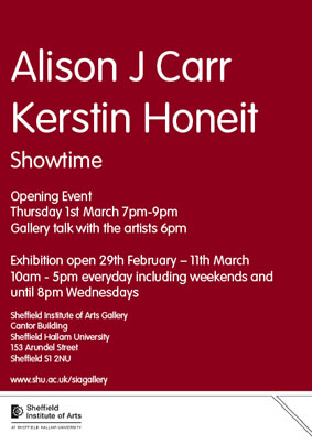 Kerstin Honeit – News: SHOWTIME goes Sheffield