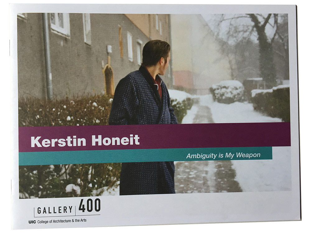 Kerstin Honeit Katalog Ambiguity is my weapon